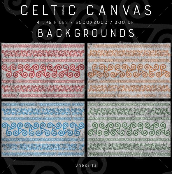 Celtic Canvas | Backgrounds - Patterns Backgrounds