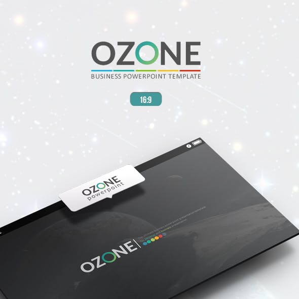 Ozone Powerpoint Template