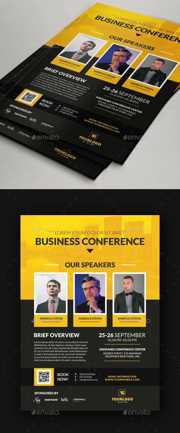 Conference Flyer V6 - Corporate Flyers