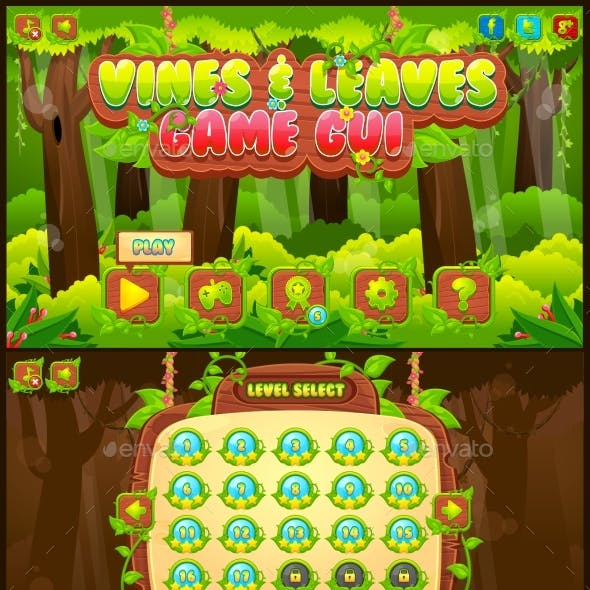 Vines and Leaves - Game GUI