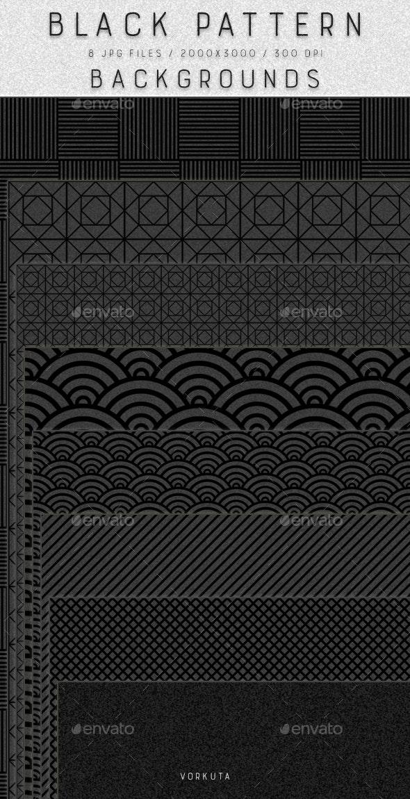 Black Patterns | Backgrounds - Patterns Backgrounds