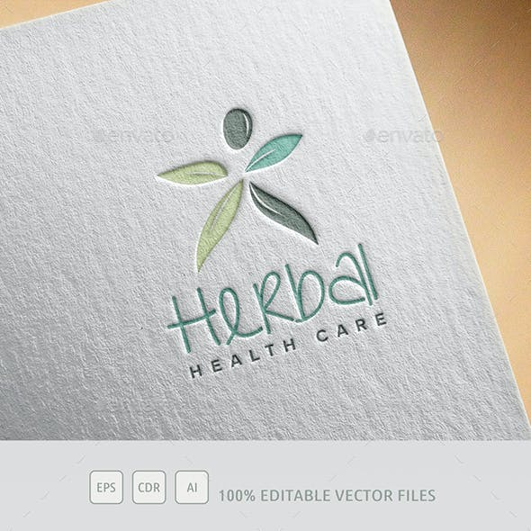 Herbal Company Logo