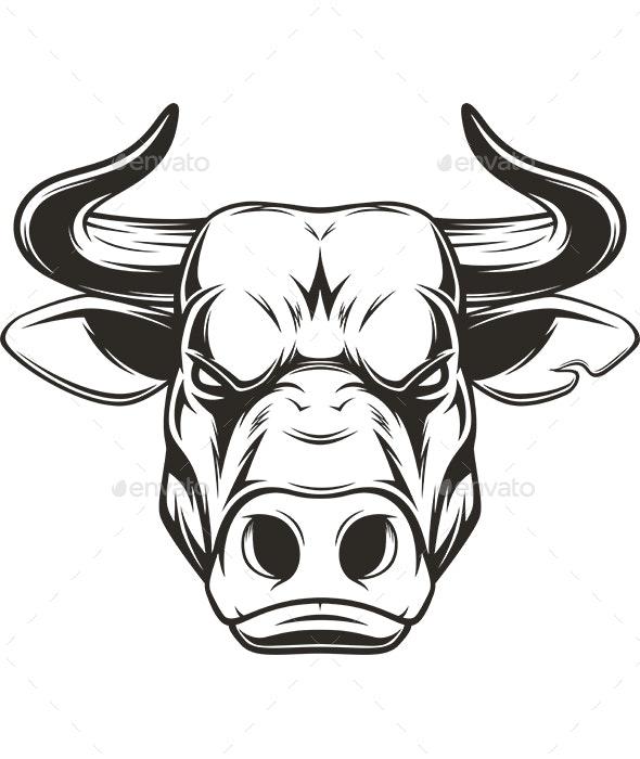 Bull Head - Animals Characters