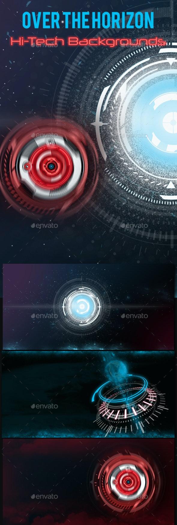 Hi-tech Backgrounds - Tech / Futuristic Backgrounds