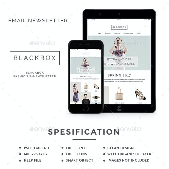 Blackbox - Fashion E-Newsletter