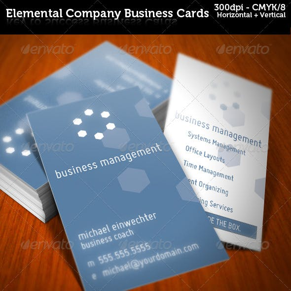 Elemental Company Business Cards