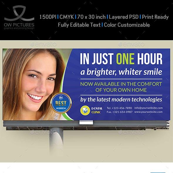 Dental Clinic Billboard Template