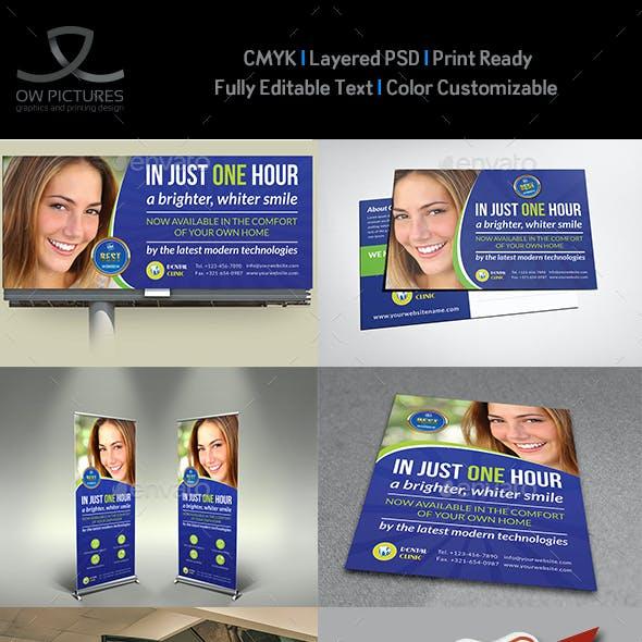 Dental Clinic Advertising Bundle Vol.2