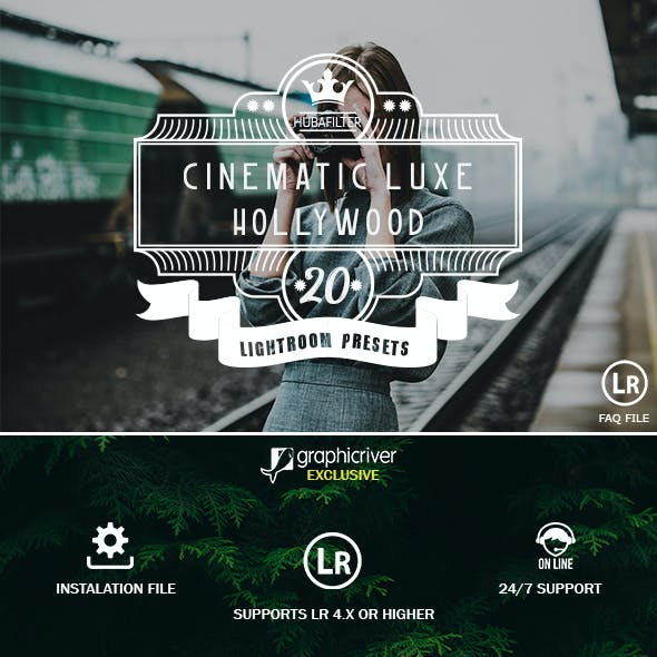Cinematic Lightroom Presets from GraphicRiver