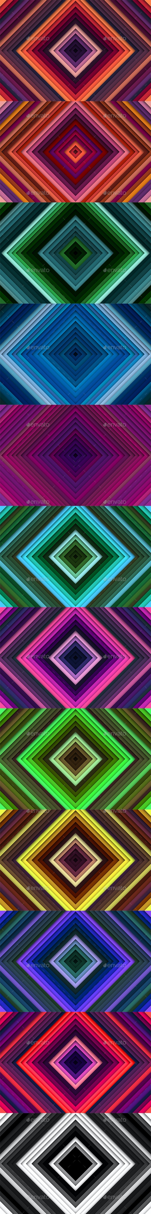 Squared Backgrounds - Abstract Backgrounds