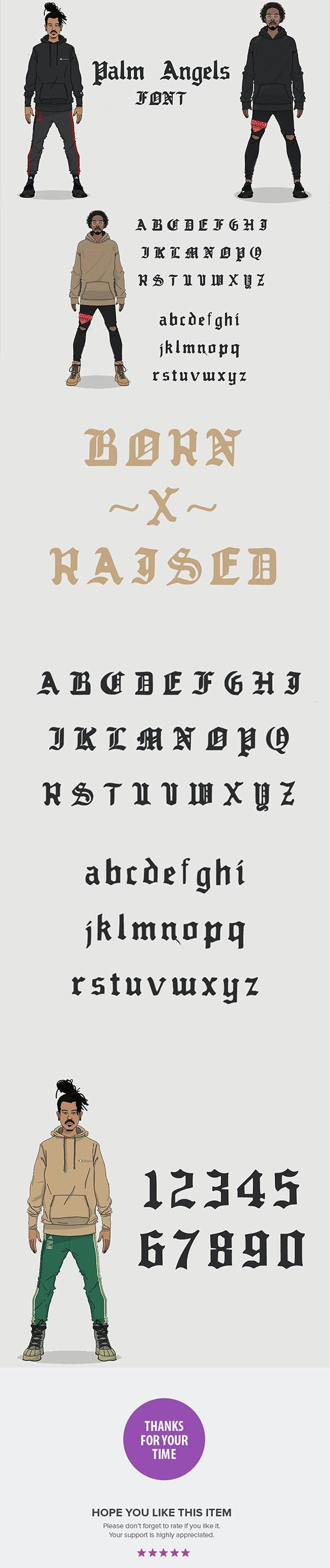 Palm Angels - Decorative Fonts