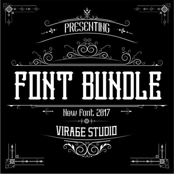 Font Bundle Decorative