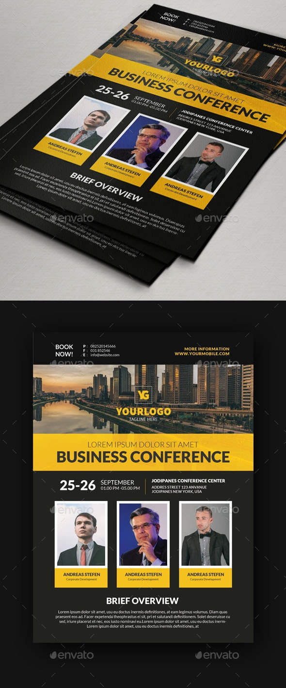 Conference Flyer V9 - Events Flyers