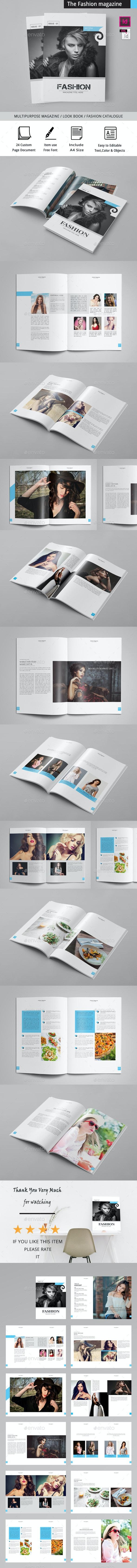 The Fashion Magazine - Magazines Print Templates