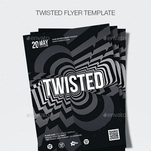 Twisted Flyer Template