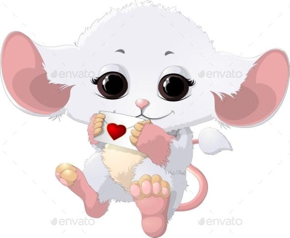 White Animal - Animals Characters