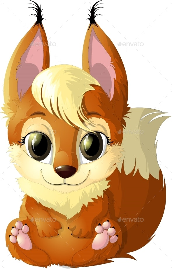 Red Squirrel - Animals Characters