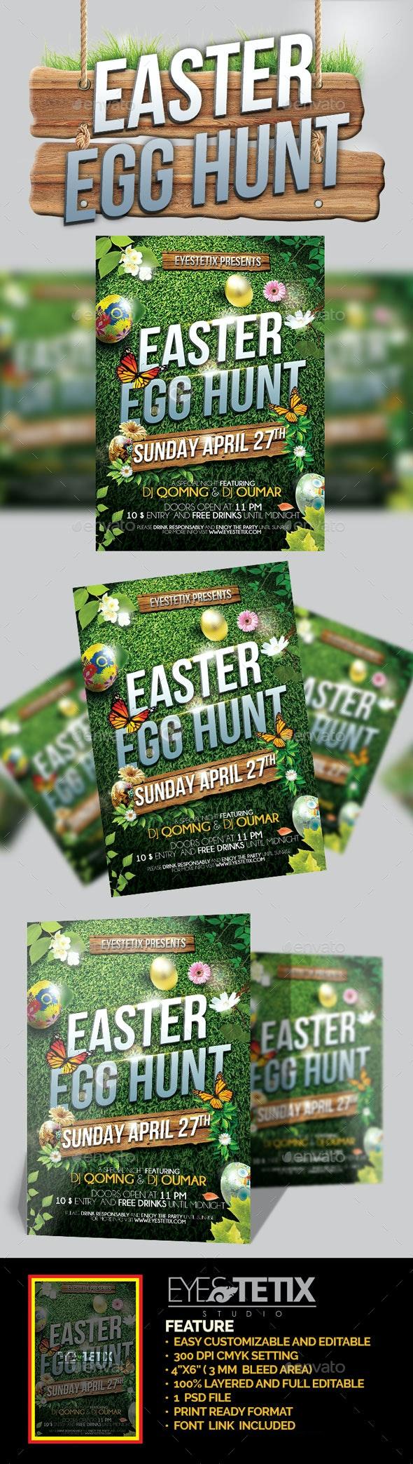 Easter Egg Hunt - Holidays Events