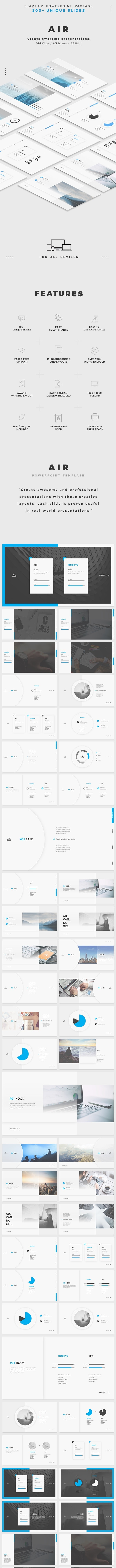AIR Powerpoint - PowerPoint Templates Presentation Templates