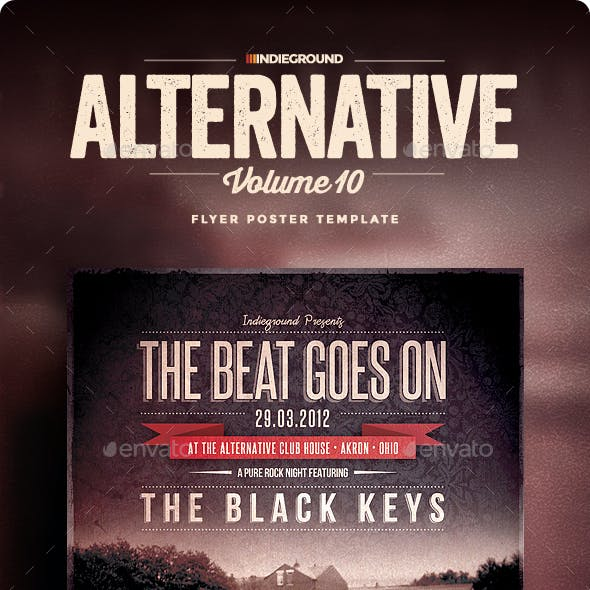 Alternative Flyer/Poster Vol. 10