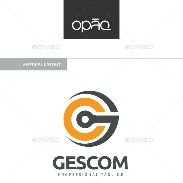 Gescom G Letter Logo
