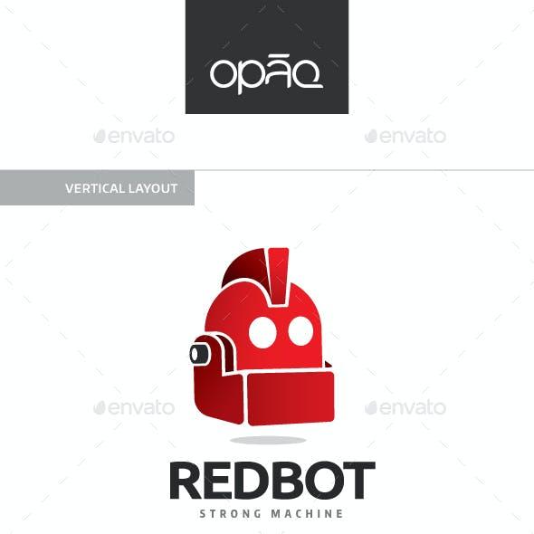 Red Robot Machine Logo