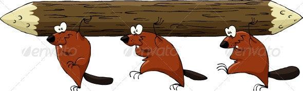 Beavers - Animals Characters
