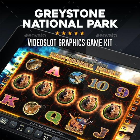 Videoslot Graphics Game Kit - Greystone National Park