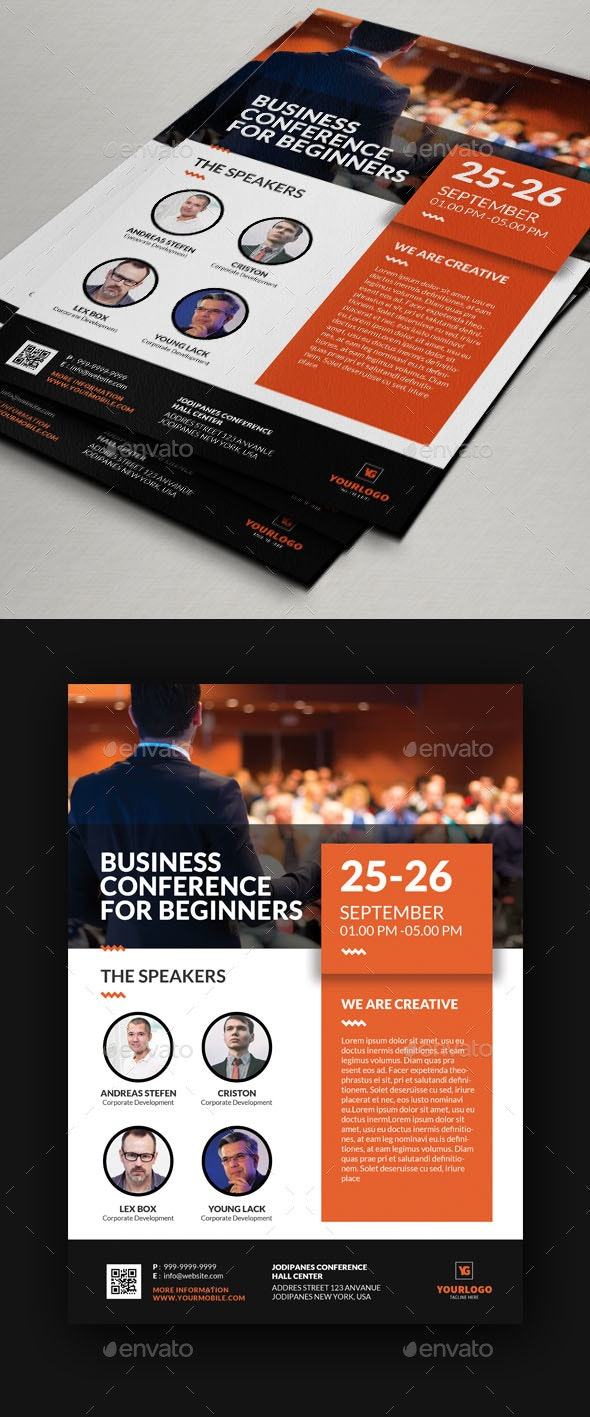 Conference Flyer V11 - Events Flyers