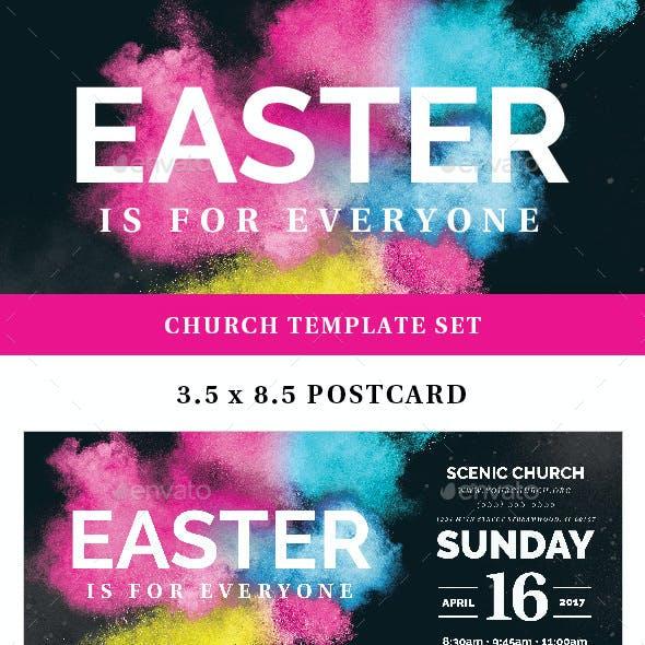 Easter Sunday Church Template Set - Vibrant