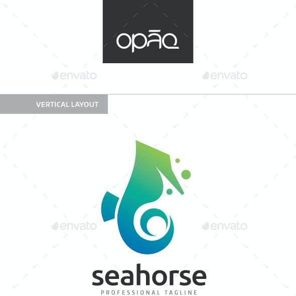 Seahorse Ocean Logo