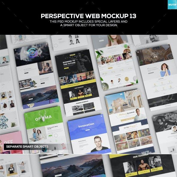 Perspective Web Mockup 13