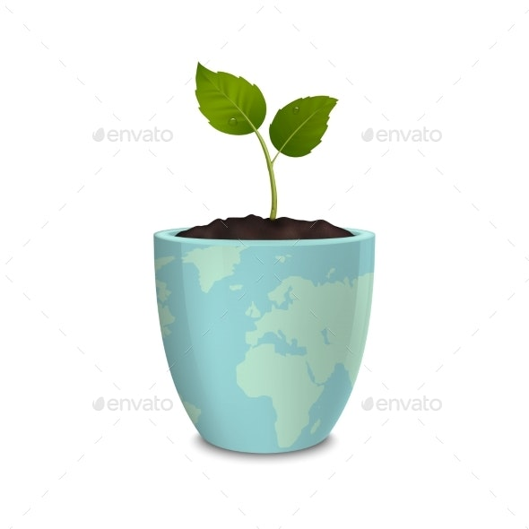 Ecology Concept Earth Day - Flowers & Plants Nature