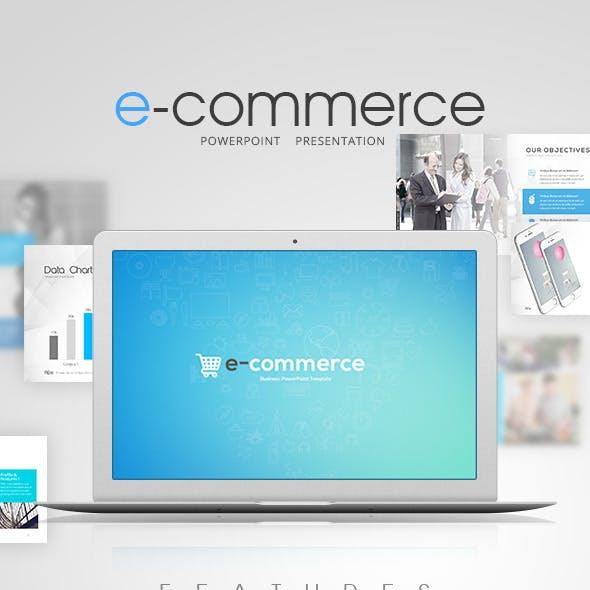 E-commerce Power Point Presentation)