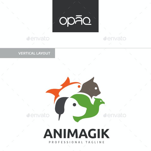 Pet Shop Animal Logo