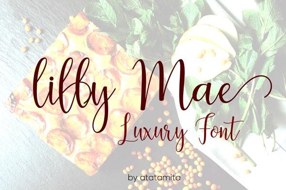 lilly mae Regular font - Fonts