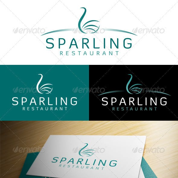 'Sparling Restaurant' Logo