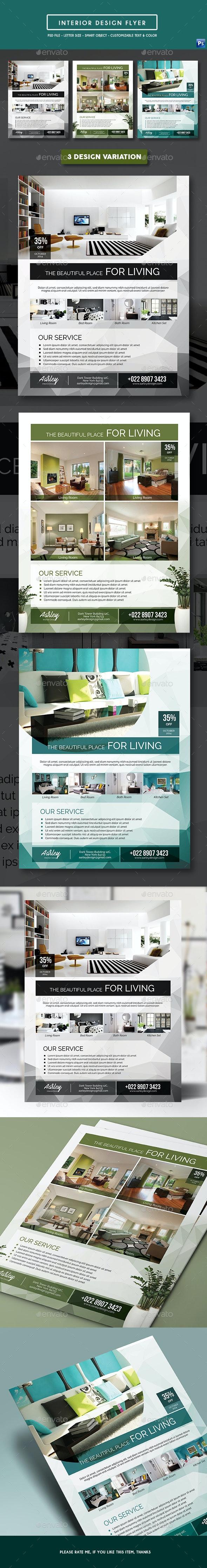 Interior Design Flyer - Corporate Flyers