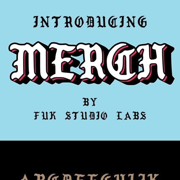Merch Font