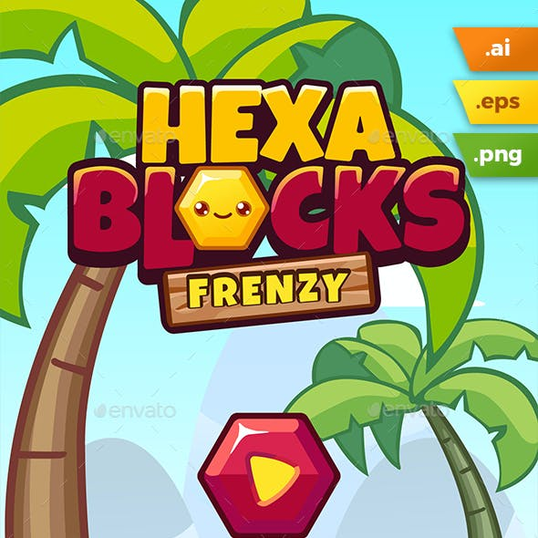 Hexablocks Frenzy Game Kit