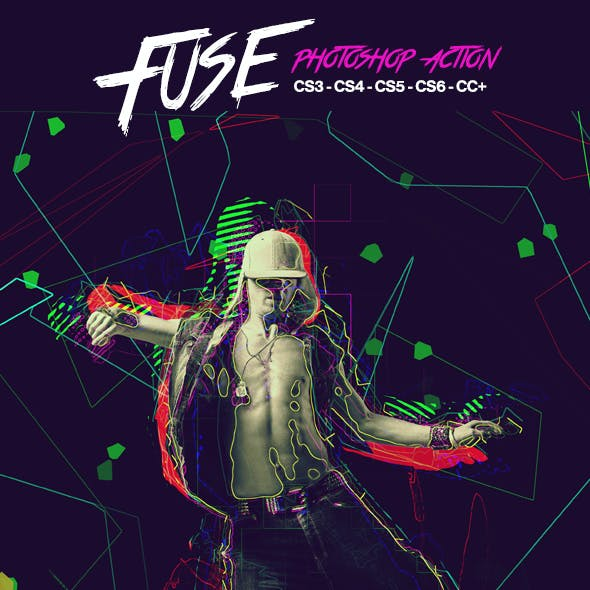 Fuse Photoshop Action