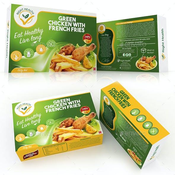 Fast Food box Template