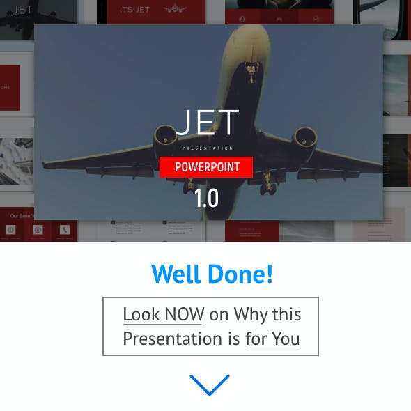 Airplane - Powerpoint Template