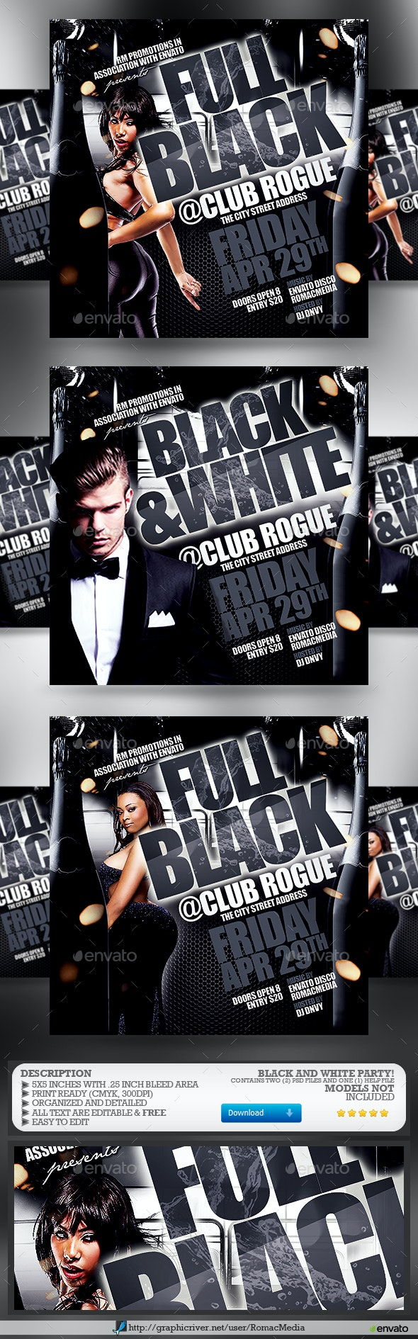 Black and White Party - Clubs & Parties Events