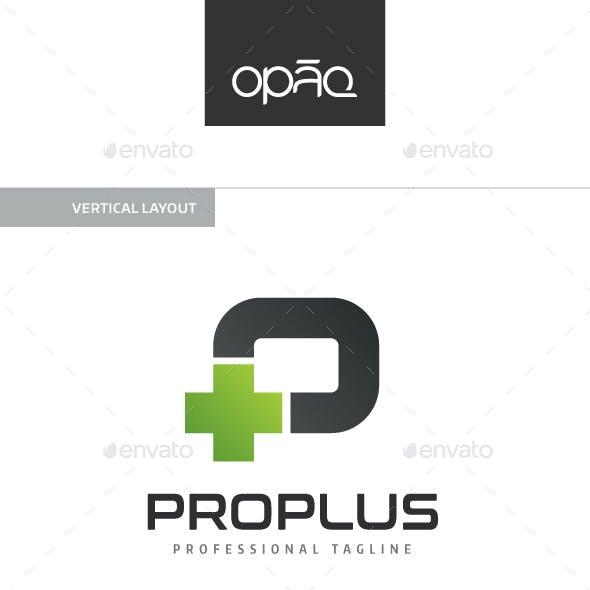 Plus P Letter Logo