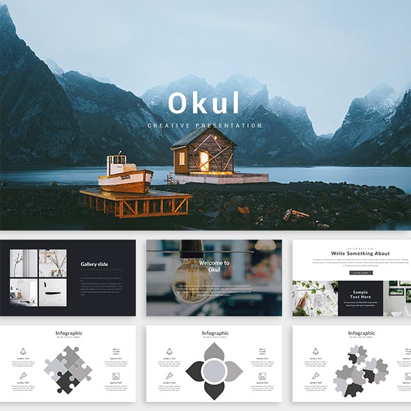 Okul - Creative Powerpoint Template