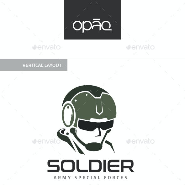 Army Force Soldier Logo