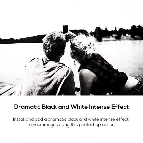 Black and White Ultra Effect