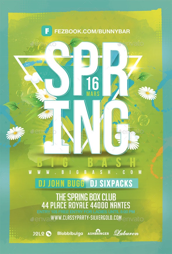 Spring Bash - Clubs & Parties Events