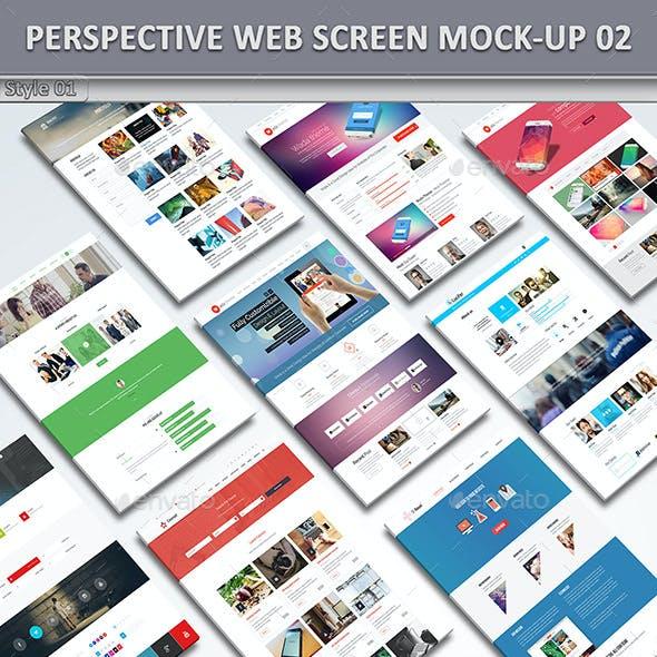 Perspective Website Mock-Up 02